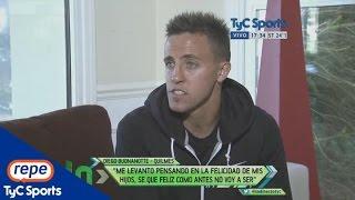 """Diego Buonanotte, sobre su trágico accidente: """"Vivo y le doy para adelante"""""""