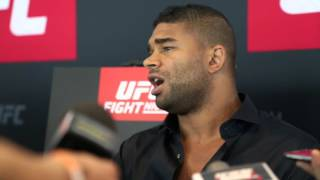 Pre-Fight Interview with Alistair Overeem ahead of UFC Rotterdam