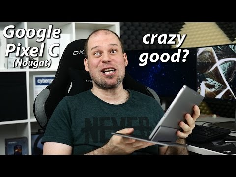 Google Pixel C (Nougat) Review | best Android tablet, but...