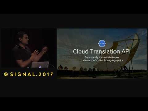 Google Machine Learning Natural Language and Translate API