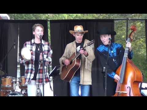 """TRIPPP covers """"Man of Constant Sorrow"""" - Johnny Cash Heritage Fest - Dyess, AR - 10/18/18"""