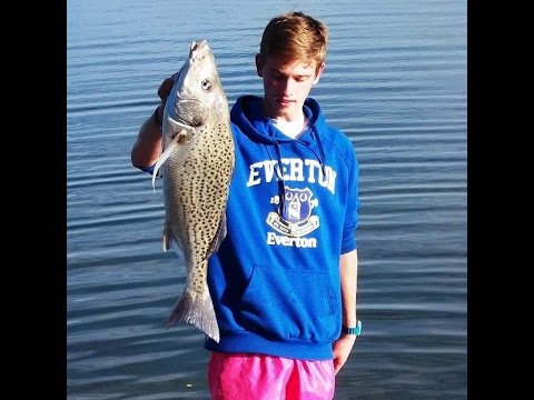 Big Spotted Grunter In Eastern Cape Off Ski! 5kg