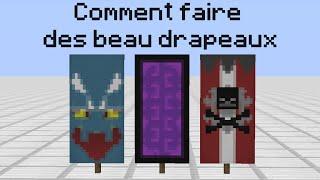[Tuto,Astuce] Minecraft : Comment faire des beau drapeaux