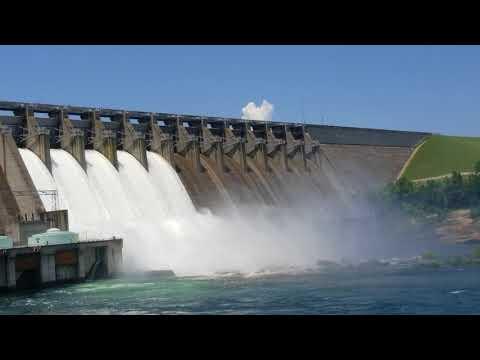 Hartwell Dam Release June 19th 2018