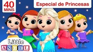 ¿Te gustan las Princesas? **ESPECIAL** Todas las canciones de Princesas | Little Angel Español