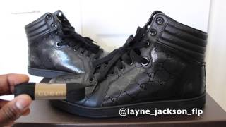 "Designer Sneakers!!! ""Gucci Coda Hi-Top Sneaker With Interlocking G"""