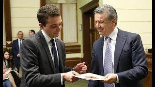 Վարչապետն ավարտական վկայագրեր է հանձնել ՀՀԿ «Անդրանիկ Մարգարյան»-ի շրջանավարտներին