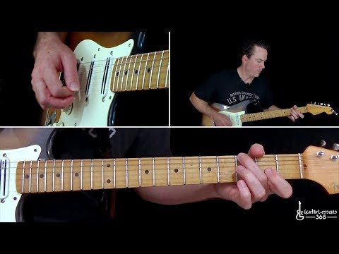 Trippin' On A Hole In A Paper Heart Guitar Lesson - Stone Temple Pilots