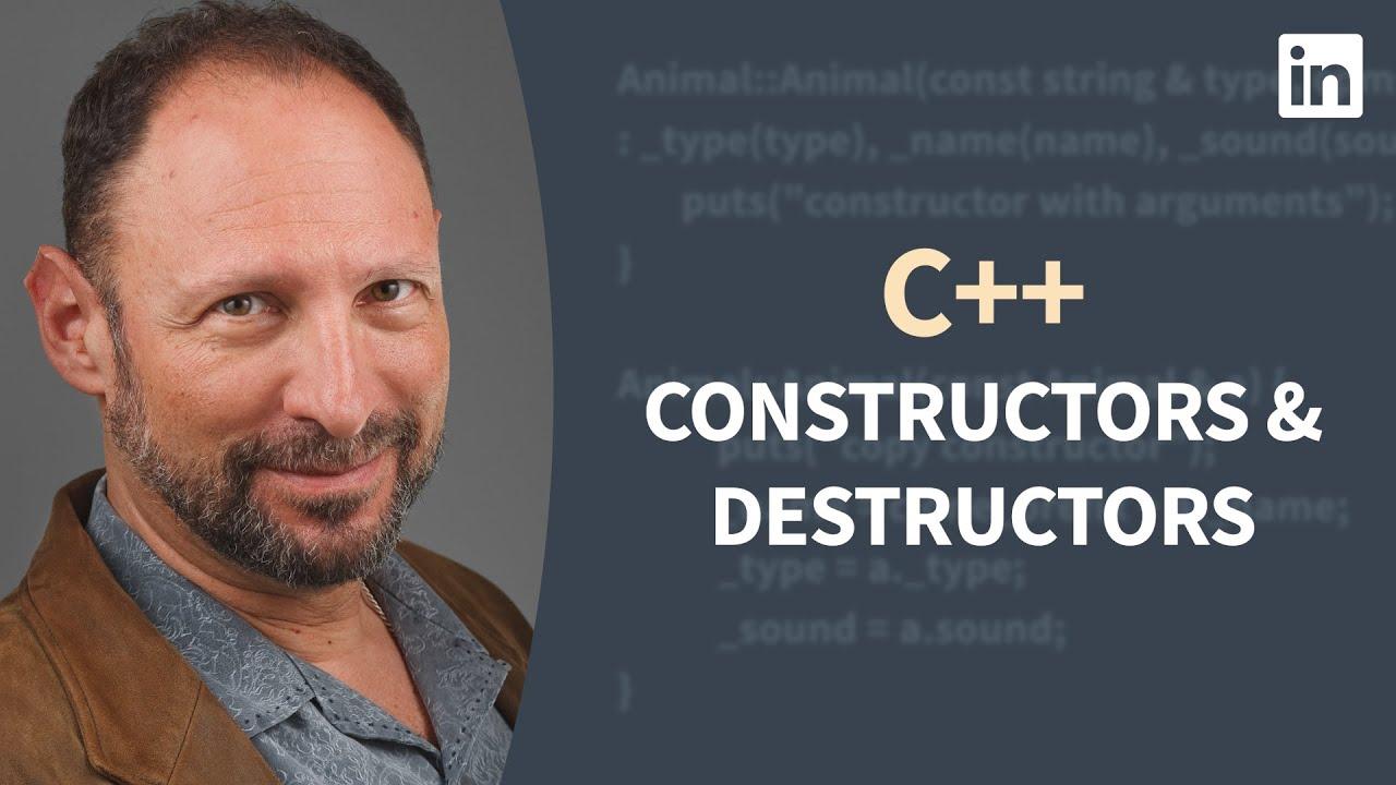 C++ Tutorial - Exploring Constructors and Destructors
