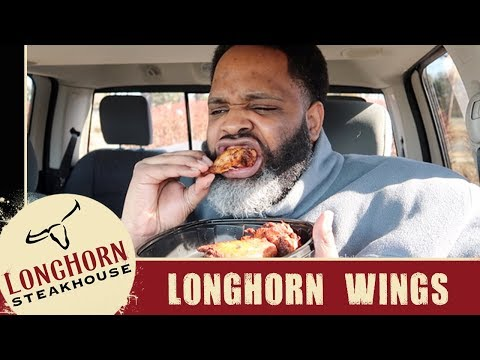 Longhorn Steakhouse Wings Food Review