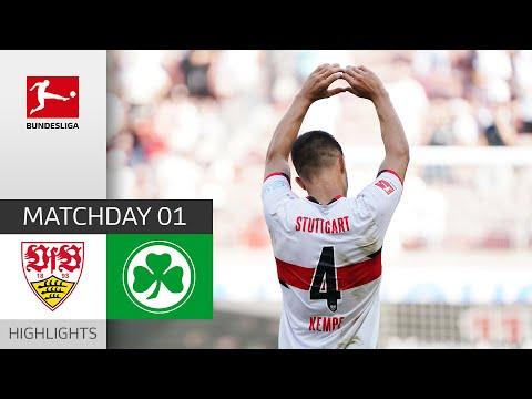 VfB Stuttgart Greuther Furth Goals And Highlights