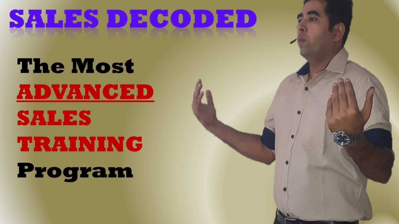 Sales Decoded - The most ADVANCED ONLINE SALES TRAINING ...