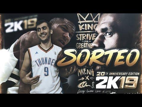 SORTEO INTERNACIONAL NBA 2K19 20th ANNIVERSARY EDITION DIGITAL (LEBRON JAMES)