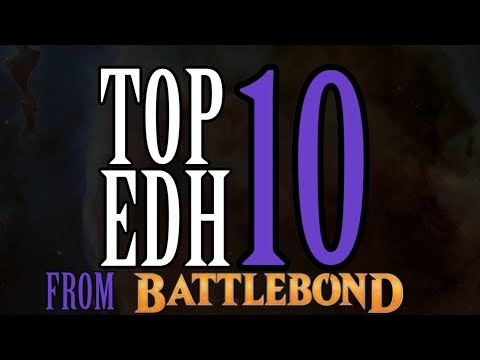 Top 10 EDH cards from Battlebond (excluding reprints!) for Magic: The Gathering