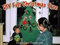 How to make a Felt Christmas Tree for Kids/ DIY Felt ChristmasTree