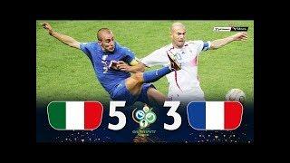 Италия Франция 1 1 5 3 Обзор Матча Финал Чемпионата Мира 09 07 2006 HD