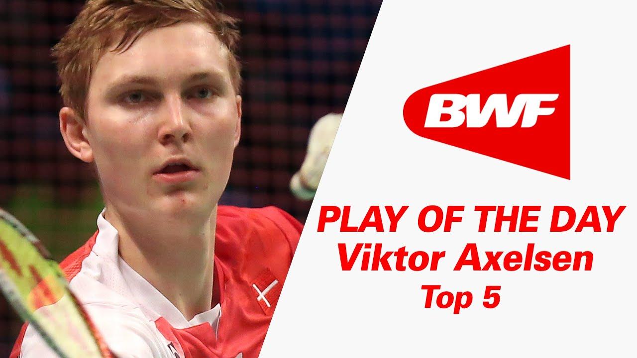 Viktor Axelsen Top 5 Badminton