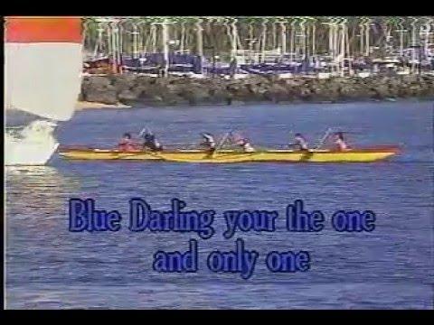 Hawaiian Karaoke - Blue Darling