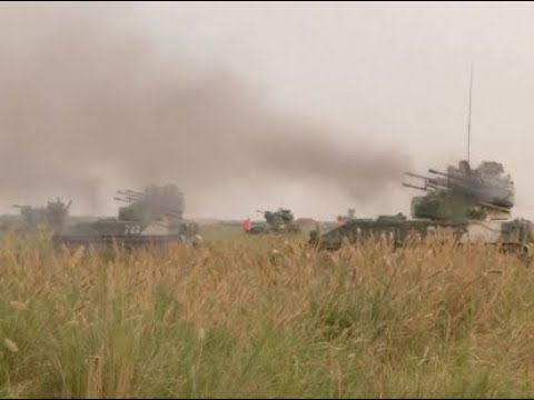 Live Ammunition Drill Conducted to Check Air Defense Ability of Chinese PLA