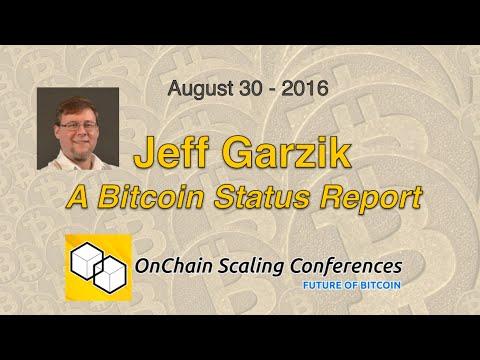 Jeff Garzik - A Bitcoin Status Report