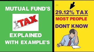 new mutual funds India taxation 2020 explained with examples mutual funds for beginners
