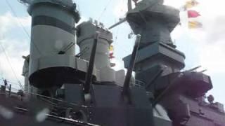 Paddle to USS North Carolina Battleship