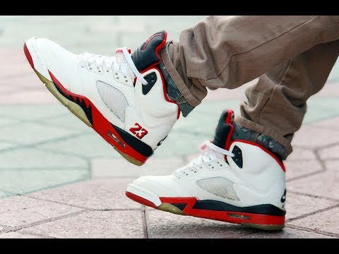 1999 G. Tongue & 1990 B. Tongue Fire Red V's Pre-Restore - Sole Review -  Spot On Restorations - YouTube