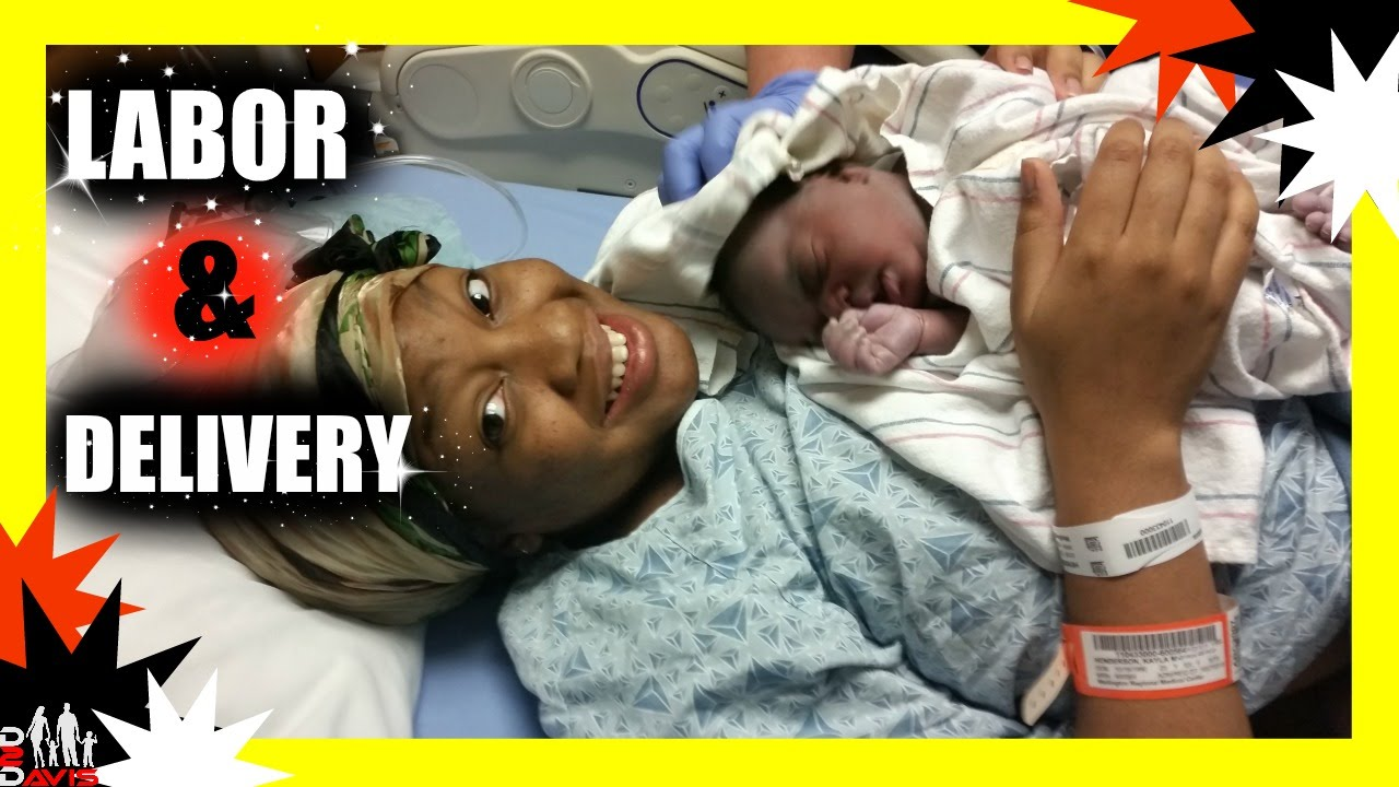 Natural Labor And Delivery   Emotional Live Unmedicated