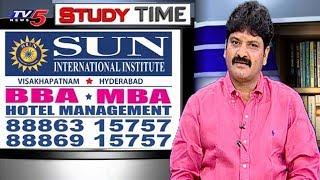 Sun International | Hotel Management Courses | Management Courses | Study Time | TV5 News