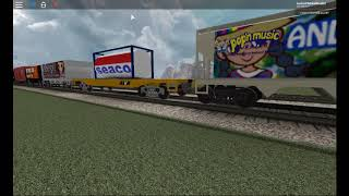 ROBLOX AWVR 1206 Full Freight Train