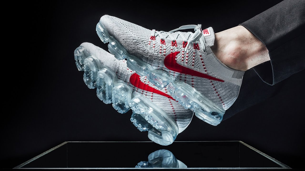 In stock Nike Air VaporMax Flyknit black red Mens UK ,Nike News