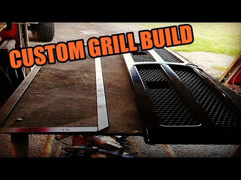 HOW TO BUILD CUSTOM TRUCK GRILL UNDER $60 D.I.Y