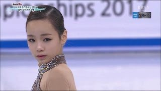 [HD] 2017 Figure Skating Korean national イム・ウンス 임은수 Eun Soo LIM SP+FS KBS