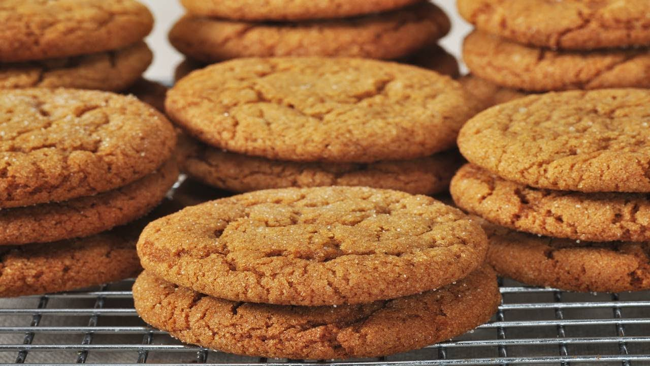 Molasses Cookies Recipe Video