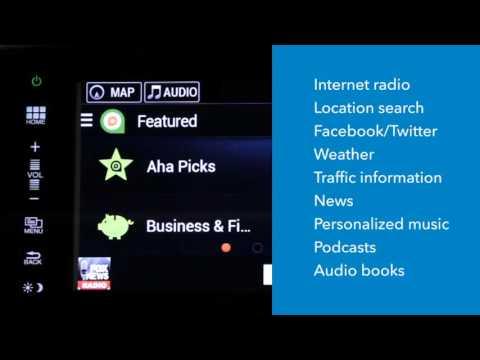 Aha Radio in your Honda vehicle