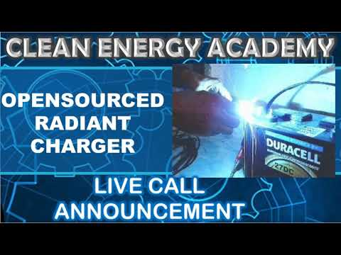 Opensourced Radiant Charger Live Call Clean Energy Academy