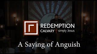 7 Last Sayings - 5) A Saying of Anguish