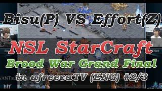 [NSL StarCraft: Brood War]Grand Final Bisu(P) vs Effort(Z) in AfreecaTV(ENG) #1/3