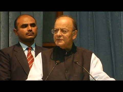 FM Arun Jaitley launches GPF module for government employees