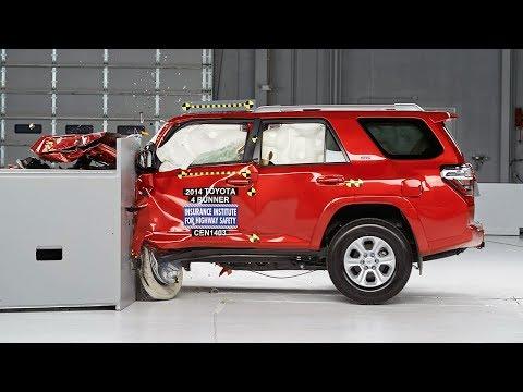 2014 Toyota 4Runner Çarpışma Testi