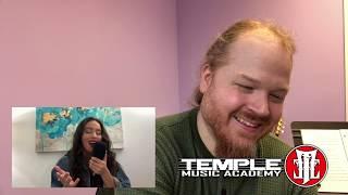 Download Lagu Music Teacher Reacts: Faouzia - This Mountain (Acoustic) mp3