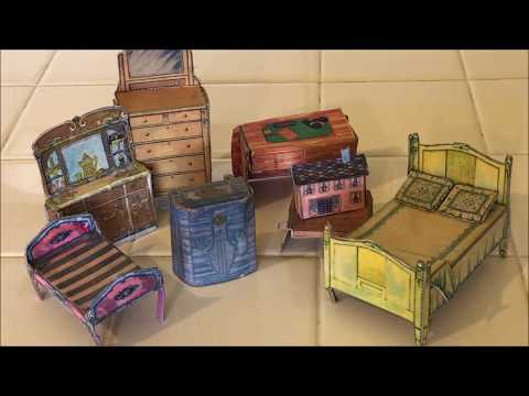 My Favorite Things: Vintage Built Rite Dollhouse Furniture By Warren Paper  Company!