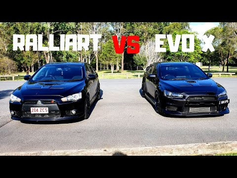 The Differences Between An Evo X And  Lancer Ralliart
