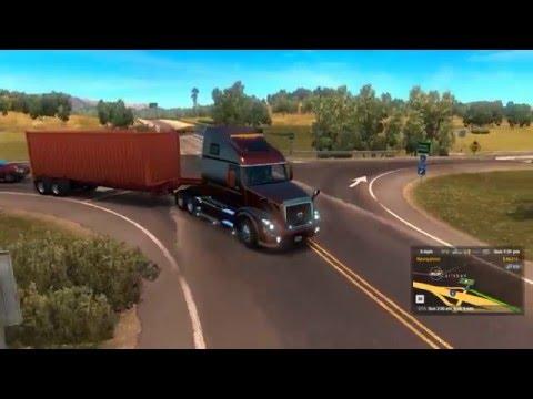 american truck simulator: volvo vnl 670 v1.3 - youtube
