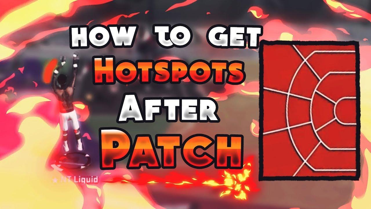 how to get hotspots nba 2k18