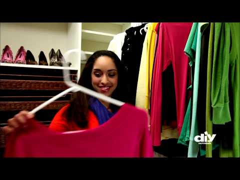 Tips for Organizing Your Messy Closet - DIY Network