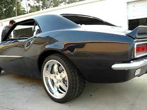 1967 Camaro Ls2 Exhaust Youtube