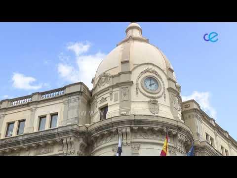 """Las señales horarias del reloj del Palacio autonómico con la sintonía de los Novios de la Muerte"""" hasta el domingo a las 22:00"""