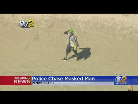 Mazzy - Joker???...Leads Police On Car and Beach Chase!