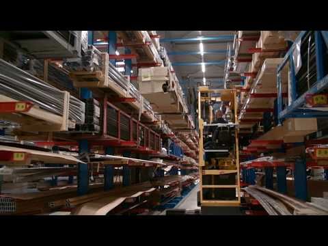 Warehouse profile sorting